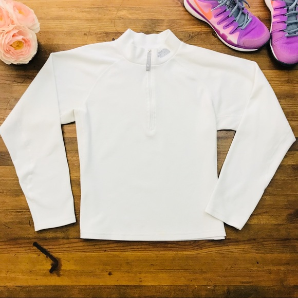 e8c7644ac The North Face White Pullover Jacket Activewear M
